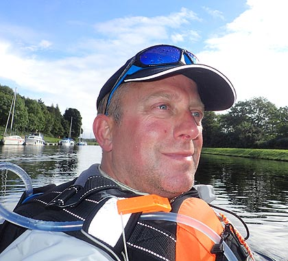 sailing instructor hampshire John wetton